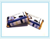 Ahoy Mate Whale Candy Wrapper Stickers, Personalized Hershey Miniature Stickers, Print your Own