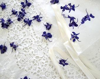 Larkspur, Wedding Flowers, Dried Flowers, Wedding Favor, Tossing Flowers, Purple, Real Dried Larkspur, Wedding Confetti, Confetti, 6 US cups