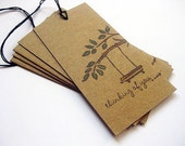Gift Tags Thinking Of You Tree Tags Set of 5
