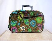 Vintage 60s Mod Mini Suitcase Japan