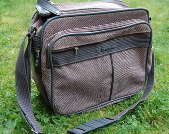 1980s Samsonite Silhouette 4 Carry-on Messenger Bag