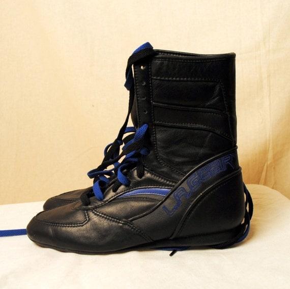 Classic 1980s LA Gear Hi Tops Sneakers Shoes