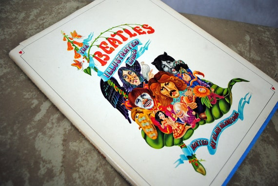 The Beatles Illustrated Lyrics By Aldridge, Alan | eBay