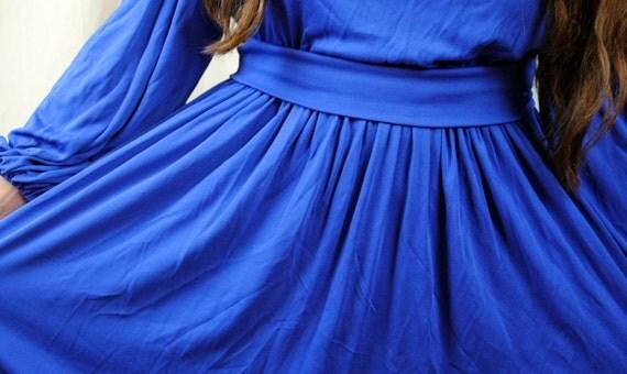 Vintage 80s Bill Blass Collection III Dress