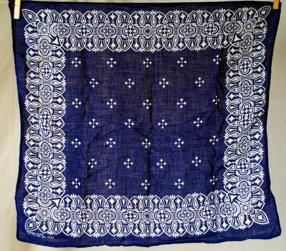 Vintage Wash Fast Color Bandana USA