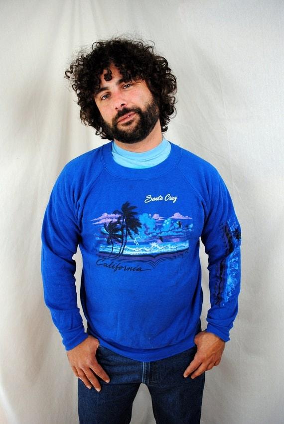 Vintage 1980s Santa Cruz California Sweatshirt