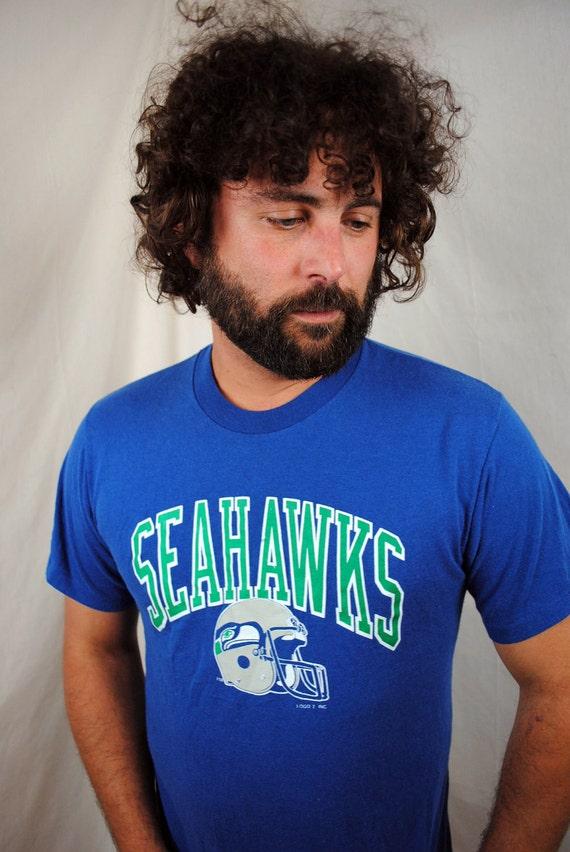 Vintage 80s Seattle Seahawks Tshirt