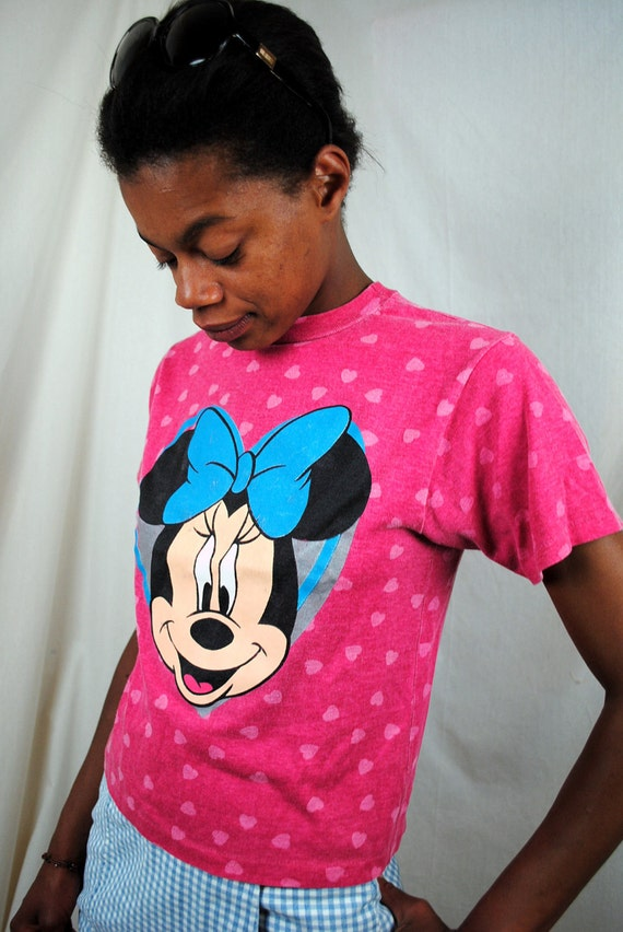 Vintage Minnie Mouse Tee Shirt