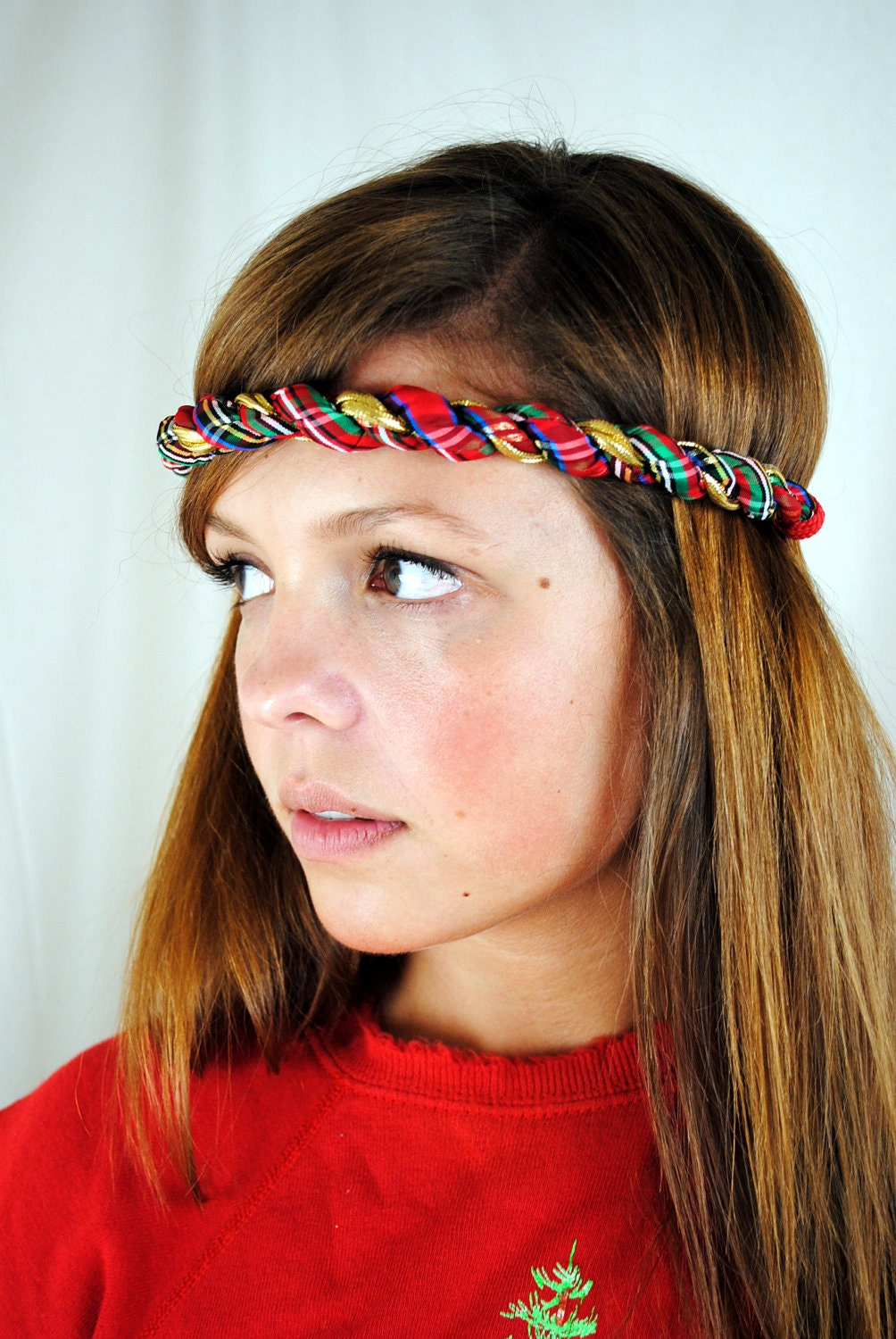 Outstanding Vintage Christmas 80S Workout Headband Hairstyle Inspiration Daily Dogsangcom