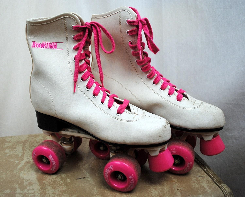 80s Roller Skates Brookfield Hot Pink Size 8