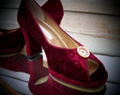 the Moulin Rouge heels, 40s pin-up style  7.5