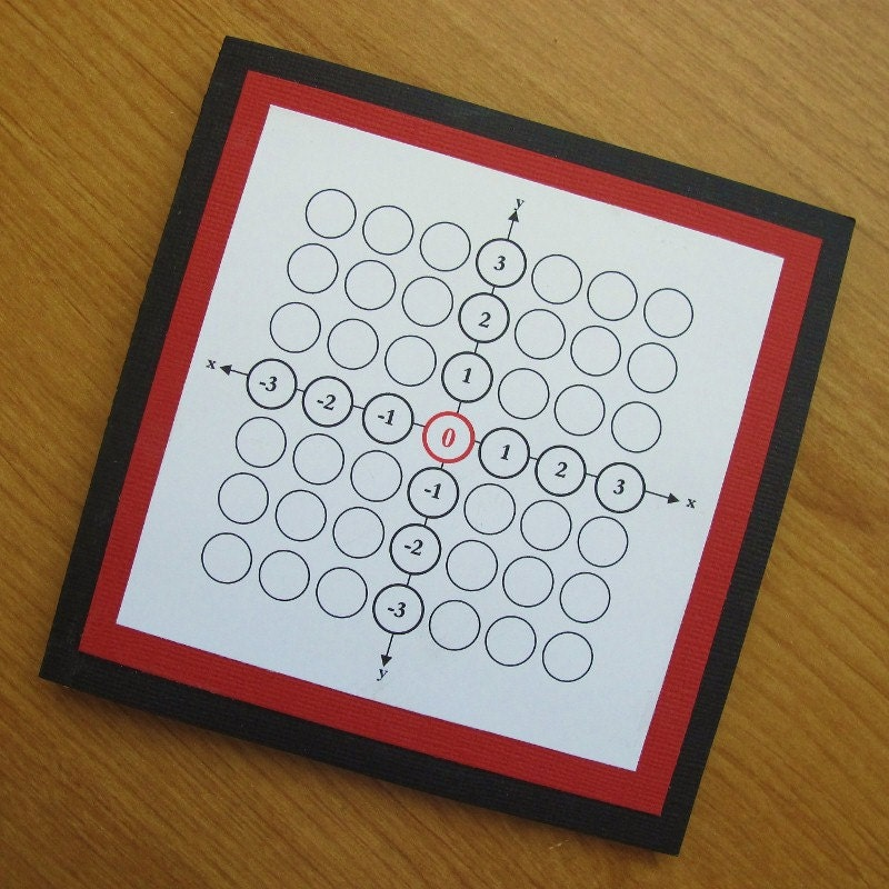 Math Geek Teacher Men Happy Origin Square by PolkaDotCardz on Etsy
