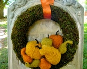 Autumn Wreath, Vintage Harvest Wreath