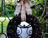 Larry S/O Quantity 3 :Halloween Wreath, Carnival of Mirth Wreath