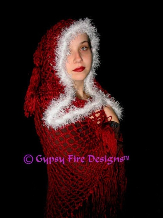 Hooded Renaissance Medieval Gypsy Stevie Nicks By Elorascastle