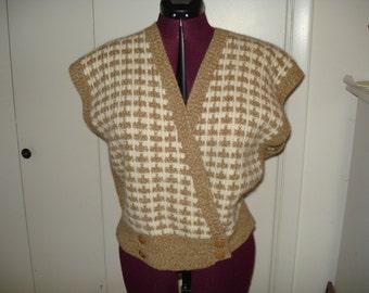 Vintage sweater vest by Jones of New York
