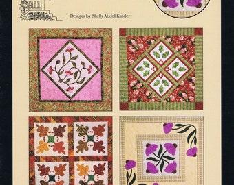 Four Seasons Applique Quilt Pattern Booklet
