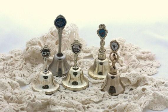 Vintage bells souvenir bells