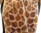 Safari...Warm, Blond/Caramel tones...Unisex Polar Fleece..Everyday winter scarf...Cozy and Trendy