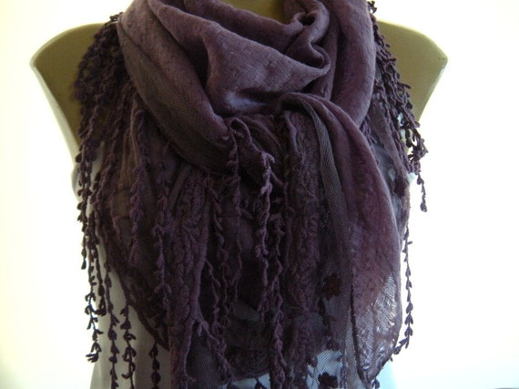 Mellow Mauve....Cotton and tulle...Richly Fringed...Mediterranean fever.... Summer collection