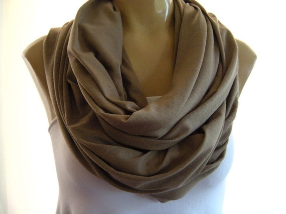 Timeless taupe...Nomad Cowl.....Infinity Scarf..Relaxed version