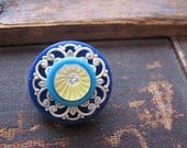 Cute as a Button Brooch