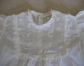 Gorgeous White Vintage Christening Dress