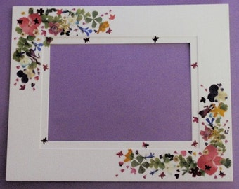Custom Order-Please Read Description For Details-Let Me Create/Capture Your Memories with Real Pressed Flowers