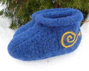 Wee Woolie Felted Slipper PATTERN