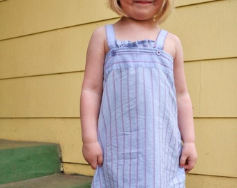 Daddy's little girl.  fathers day, sundresses/ dress upcycled from dad's button-down
