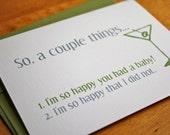 So Happy You Had a Baby Card