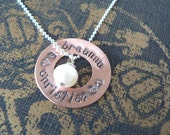 Open Circle / Love necklace