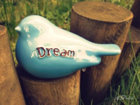 Photography Print 5x7 Blue Bird Dream