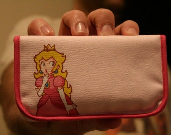 Princess Peach Nintendo 3DS / DSi / DS Lite Case