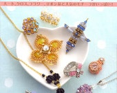 New Bead Jewelry from Basic Motifs - Japanese craft book