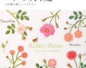 Out-of-print Master Collection Kazuko Aoki 10 - Roses Roses - Japanese embroidery craft book