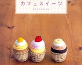 Out-of-print Master Erikarika 01 - 80 Felt Sweets - Japanese craft book