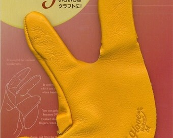 CLOVER Japan Needle Felting Tool - Leather Glove