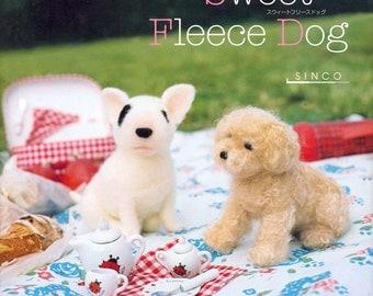 Master SINCO Collection 02 - Sweet Fleece Dog - Japanese craft book