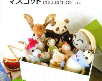 Felt Wool Animal Collection 02 - Japanese Craft Book