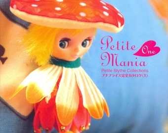 Out-of-print Petite Mania, Petite Blythe Collections 01 - Japanese craft book
