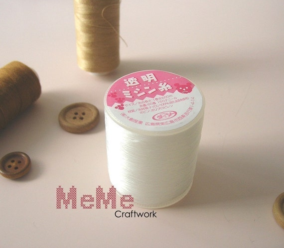 Masters recommend. Japanese Transparent Sewing Thread