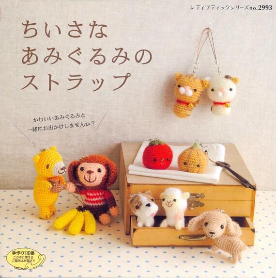 Crochet Little Dolls - Japanese craft book