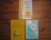Vintage Collection of Booklets Featuring Recipes Made With Honey