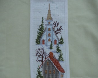Needlecraft  Cross Stitch WINTER SAMPLER BANNER