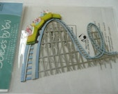 ROLLER COASTER Jolee's Boutique Scrapbooking Supplies stickers - Amusement Park, Carnimval