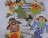 SCARECROWS Jolee's Boutique Scrapbooking Wholesale Stickers- Fall, Harvest, Halloween