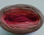 COCOA BERRY III Color Changing Cotton yarn  240 yds/50gr  Fingering Weight