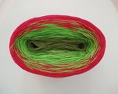 DELICIOUS II  Color Changing Cotton yarn  480 yards/100 gr  Fingering Weight