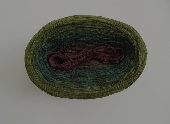 DANTE V  Color Changing Cotton yarn 480 yds/100 gr  Fingering Weight